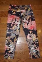 KOS USA Yoga Athletic Crop Leggings Micropolyes... - $12.59