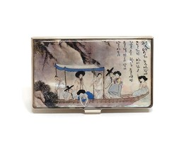 Mother of Pearl, Business card Case, Business Card Holder, Name ID Card ... - $28.90