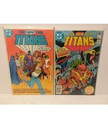 TEEN TITANS: ANNUAL #1,2 AND 5 BROTHER BLOOD - PEREZ/ WOLFMAN - FREE SHI... - $18.70