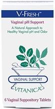 Vitanica - V-Fresh - Vaginal pH Support - 6 Suppositories - $32.06
