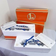 NEW Lionel Allied Chemical O Gauge TC D/C 2-Pack 6-36913 White Die-Cast Set 1999 - $124.99