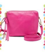 Fossil Women's Maya Crossbody Hot Pink Bag Leather  ZB7229694 - $84.15