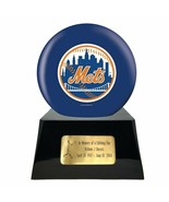Large/Adult 200 Cubic Inch New York Mets Metal Ball on Cremation Urn Base - $479.99