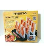 Presto PowerCrisp Microwave Bacon Cooker 12 Strips Leaner Healthier Easy... - $34.60