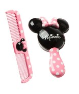 Disney Baby Minnie Mouse Hair Brush & Comb Set - New - $10.95