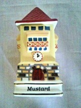 Danbury Mint Spices of the World Mustard German Clock Tower - $16.83