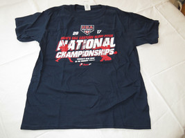 2017 National Championships USA softball Gildan Heavy Cotton S/S T shirt L Youth - $12.86