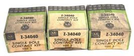 LOT OF 3 NIB ALLEN BRADLEY Z-34040 SINGLE POLE CONTACT KITS SIZE 3, Z34040