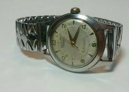 Vintage 1940s 50s Pesag 17J Mens Watch - $19.79
