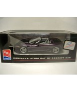 AMT ERTL 8408 CORVETTE STING RAY III CONCEPT CAR MODEL BUILT UP NEW L55 - $7.34