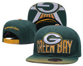 Green Bay Packers Football Team Fans Flat Hat Sports Hip Hop Cap gift for fans - $31.99