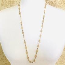 Vintage Trifari Filigree Gold Tone Necklace Signed - $18.28