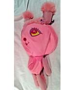 "Hugfun Plush Pink Poodle Pillow 14"" Tall Stuffed Animal Toy  - $12.19"
