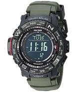 Casio Men's PRO TREK Stainless Steel Quartz Watch with Resin Strap, Black, 20.2  - $437.33