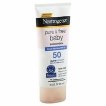 Neutrogena Pure & Free Baby Mineral Sunscreen Spf 50 3.0 Oz - $12.52