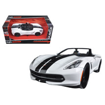 2014 Chevrolet Corvette Stingray Convertible White/Black Modern Muscle 1... - $37.93