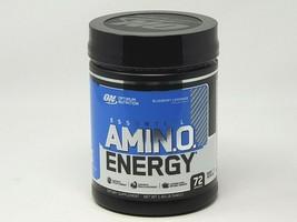 Optimum Nutrition Essential AMIN.O. ENERGY Blueberry Lemonade 1.43 lb 72 svgs - $49.49
