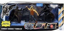 Mattel Batman Dark Knight Exclusive Action Figure Vehicle Combat Assault... - $95.55