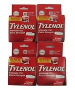 Tylenol Extra Strength Acetaminophen 500 mg 6 Caps (Go Pack) Pain & Feve... - $13.57