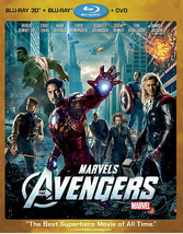 Marvel's: The Avengers [3D + Blu-ray]