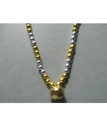 MARDI GRAS ~ HORSE RHYTHM BEADS ~ Silver, Gold ~ Size 54 Inches - $19.00