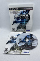 Alpha Protocol - Best Buy Exclusive (Sony PlayStation 3, 2010) PS3 CIB Complete! - $8.77