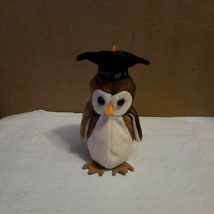 TY Wise Beanie BABY Class Of 98 Owl Plush GRADUATION Gift  - $11.99