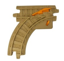 1 FISHER PRICE GEO TRAX CURVE SWITCH TRACK ROAD PLASTIC REPLACEMENT PART... - $7.27