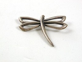 Vintage Sterling Silver Dragon Fly RETIRED Pendant By JAMES AVERY 52017 - $108.90