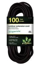 GoGreen Power GG-13700BK - 16/3 100' SJTW Outdoor Extension Cord - Black - $39.33