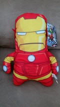 "AVENGERS ASSEMBLE IRON MAN New Licensed Plush Marvel NWT With Tags 14"" S... - $11.99"