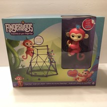 Authentic Wowwee Fingerlings Jungle Gym Playset w/Aimee Baby Monkey - $68.99