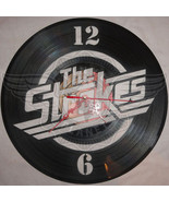 VINYL PLANET Wall Clock THE STROKES Home Record Unique Decor upcycled 12'' - $24.26