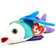 2000/2001 TY Beanie Baby Propeller Colorful Fish Retired Beanbag Plush Toy Doll image 1