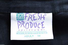 Fresh Produce Tank Maxi Dress & Jacket Blouse Top Black Windowpane Print  M image 8