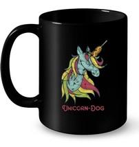 Funny Unicorn Dog Unicorn Dog Unicorn Corn Dog Ceramic Mug - $13.99+
