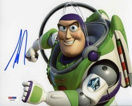 Tim Allen Toy Story Buzz Lightyear Signed 8x10 Photo Certified Authentic PSA/DNA - $138.59