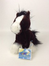 Webkinz Clydesdale Horse Retired Brand New Sealed New Unused Code Stuffed Plush - $8.86