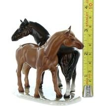 Hagen Renaker Specialty Horse Best Friends Grooming Ceramic Figurine image 2