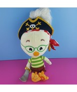 "Disney Store 18"" Chicken Little Pirate Plush Doll Stuffed  - $46.53"