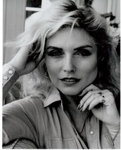 Deborah Harry Blondie MM Vintage 8X10 BW Music Memorabilia Photo - $6.99