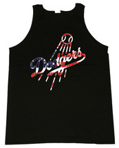 Dodgers Stars And Stripes Spirited Image Men's Tank Tops - $20.78+