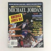 Gold Basketball Magazine 1993 Michael Jordan Tribute Includes Poster No ... - $14.20