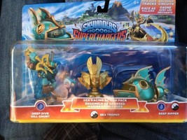 Skylanders SuperChargers Sea Racing Action Pack Gill Grunt Reef Ripper T... - $6.58