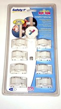 Safety 1st Magnetic Tot Lok Complete 9-Piece Set Set 8 Locks 1 Key Baby ... - $20.69