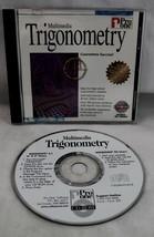 Multimedia Trigonometry CDROM Win95 and 3.1, Pro One Software - $11.87