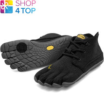 more photos 2d502 9d77f Vibram Cvt Wool W5803 Fivefingers Womens Shoes Black Grey Casual Barefoot  New -  86.69