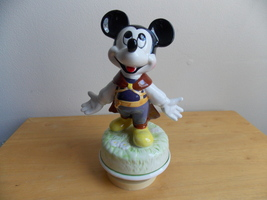 Disney Prince Charming Mickey Mouse Musical Figurine  - $40.00