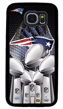 New England Patriots Super Bowl Phone Case For Samsung Galaxy S3 S4 S5 S6 S7 S8 - $14.88