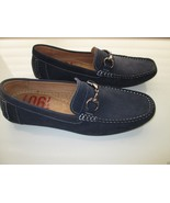 1901 'Naples' M15114 Driving Loafers Men' Shoes Navy 9M MSRP $89.95  - $38.99
